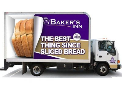 Bakers Inn - Truck Branding