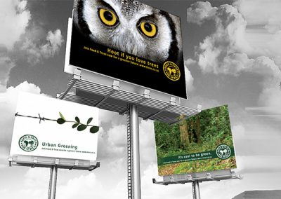 Food For Trees - Billboards