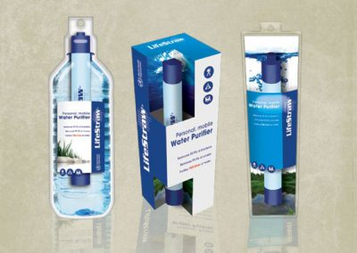 Life Straw - Packaging